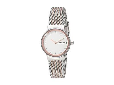 Skagen Freja Two-Hand Stainless Steel Mesh Watch (SKW2699 Two-Tone Stainless Steel Mesh) Watches
