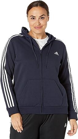 3-Stripes Fleece Full Zip Hoodie