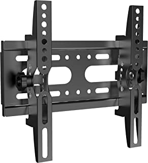 SJBRWN Tilt TV Wall Mount Bracket Most 14-42 Inch LCD LED Flat Curved Screen Small TV Monitor Mount VESA Up to 200x200mm, ...