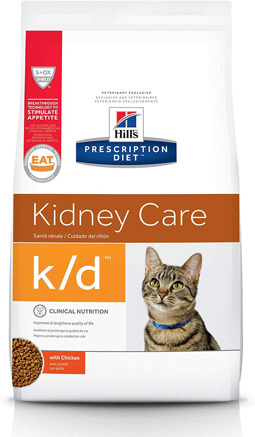 Hill's Prescription Diet k d Kidney Cat Dry Care Veterinar Food Max NEW before selling ☆ 44% OFF