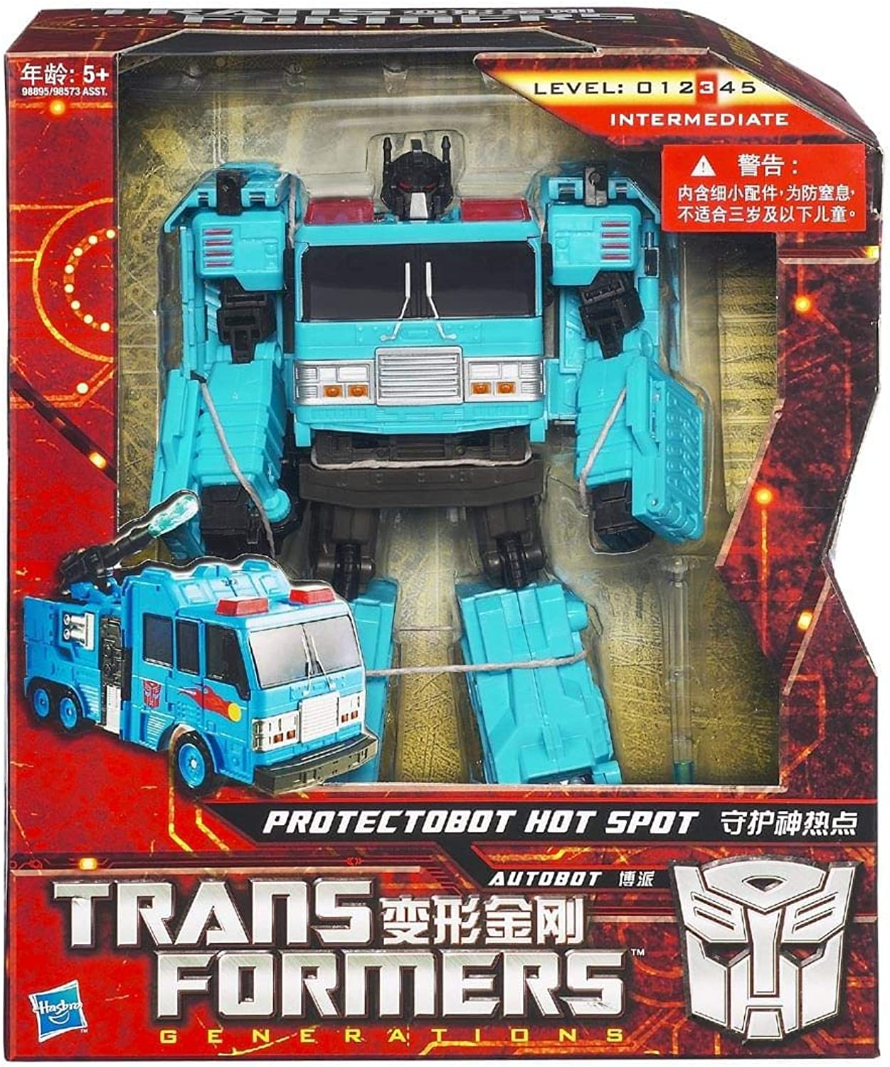 Transformers Generations GDO Voyager Class Predectobot Hot Spot