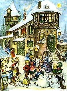Alexander Taron Large Village and Kids Advent Calendar