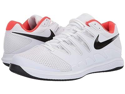 Nike Air Zoom Vapor X (White/Black/Bright Crimson) Men