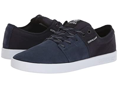 Supra Stacks II (Navy/White/White) Men