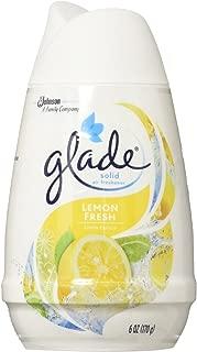 Glade Solid Air Freshener, Lemon Fresh, 6 Ounce (Pack of 12)