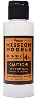 Mission Models MMA-003 RC Paint 4 oz Bottle Thinner/Reducer
