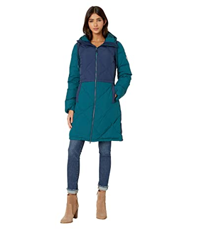 Burton Chescott Down Jacket (Dress Blue/Deep Teal) Women