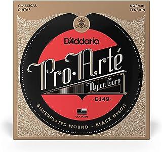 D'Addario EJ49 Pro-Arte Black Nylon Guitar String ، شد عادي