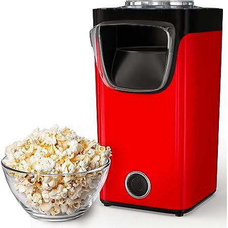 Gadgy Machine À Pop-Corn À Air Chaud | Pour Le Popcorn Sucré Et Salé | Capacité De La Machine : 60 Grammes De Maïs | Ajoutez Votre Propre Arôme | Prêt En 3 Minutes