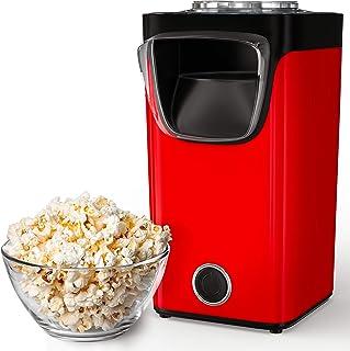 Gadgy Machine À Pop-Corn À Air Chaud | Pour Le Popcorn Sucré Et Salé | Capacité De La Machine : 60 Grammes De Maïs | Ajout...