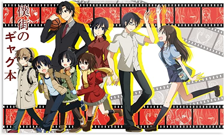 Amazon Com Kineticards Fujinuma Kayo Airi Katagiri Akemi Achiko Kenya Jun Erased Shiratori Anime Satoru Kobayashi Hinazuki Home Decor Wall Art Print Poster Posters Prints