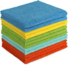 AIDEA Microfiber Cleaning Cloths All-Purpose Softer Highly Absorbent, Lint Free - Streak Free Wash Cloth for House, Kitche...