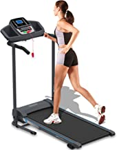 SereneLife Smart Electric Folding Treadmill – Easy Assembly Fitness Motorized Running Jogging Exercise Machine with Manual...