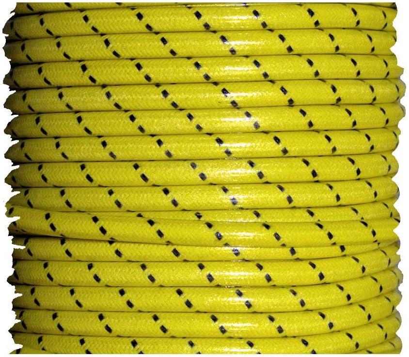 7mm Cloth Sparkplug wire Satin Black 25 feet