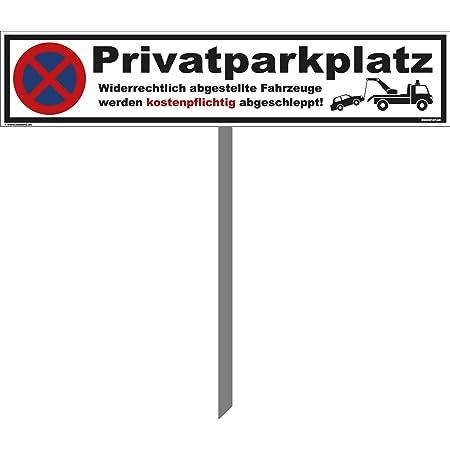 Parken verboten Schild Parkverbotsschild Privatparkplatz Parkplatz Individuell