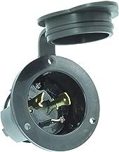 Flanged Inlet 30 Amp 125 Volt Male Twist Lock 3 Wire Nema L5-30P 2 Pack