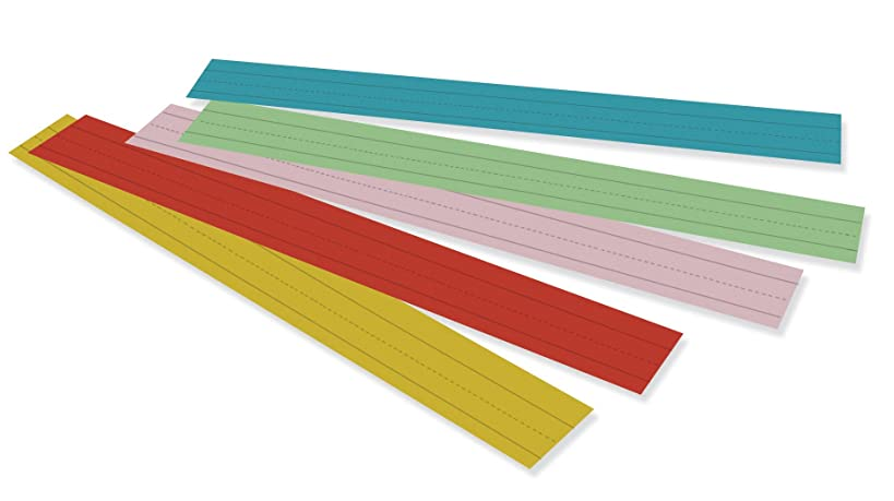 Pacon Assorted Sentence Strips (PAC73400)