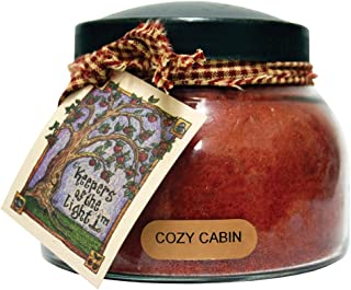 A Cheerful Giver Cozy Cabin Mama Jar Candle, 22-Ounce