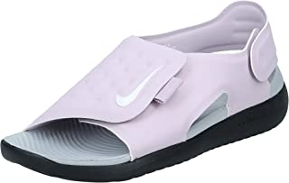 Nike Sunray Adjust 5 (Gs/Ps), Unisex Kids' Fashion Sandals, Multicolour (Iced Lilac/White-Light Smoke Grey)