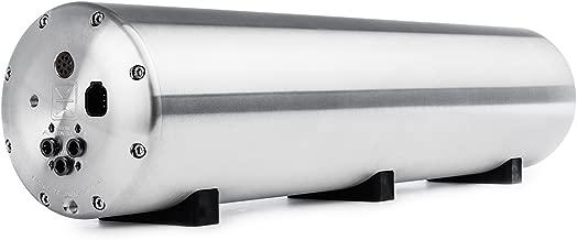 Accuair ENDO-VT (Valve-Tank) 4-Corner 5 Gallon Bolted Aluminum Air Tank Raw Finish