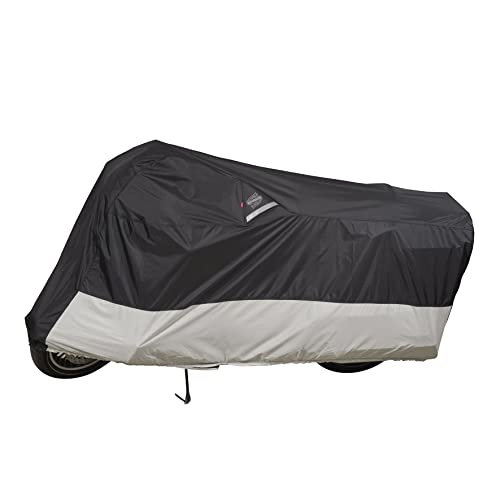 Dowco Guardian WeatherAll Plus Indoor/Outdoor Motorcycle Cover - Lifetime Limited Warranty - Reflective -