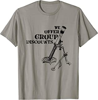 Funny Mortarman Infantry Shirt 0311 0341 11B 11C