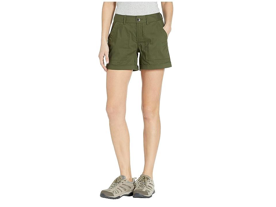Mountain Hardwear Hardwear APtm Shorts (Dark Army) Women