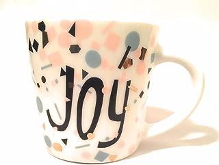 Starbucks 2017 Ceramic JOY Holiday Demi Espresso Cup - 3 Oz