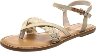 21318b6ea32 TOMS Burnished Lilac Suede with Embroidered Strap Women s Lexie Sandals