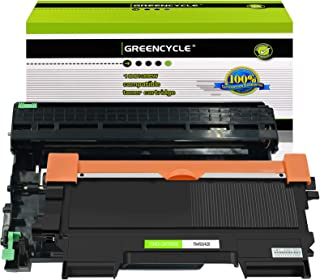 GREENCYCLE TN450 TN-450 DR420 Black Toner Cartridge Drum Unit Replacement Compatible for Brother HL-2270DW HL-2280DW HL-2230 MFC-7360N MFC-7860DW DCP-7065DN Intellifax 2840 2940 (1 Toner, 1 Drum)