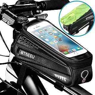 Bolsa Impermeable para Marco de Bicicleta y Parasol HEKIWAY Bolsa de Almacenamiento de Gran Capacidad con Orificio para Auriculares para Cualquier tel/éfono Inteligente de Menos de 7 Pulgadas