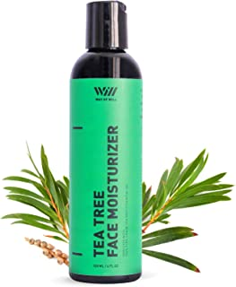 Tea Tree Face Moisturizer, Facial Moisturizer with Soothing Tea Tree Essential Oil, Face Cream for Women and Men, Sulfate and Paraben Free, 120 mL - Way of Will
