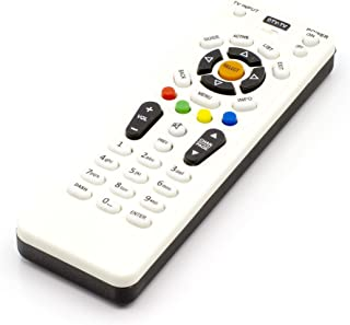 Best Simplified Remote Control Compatible with DIRECTV (Now AT&T) Receivers- Extra-Long Life Batteries and Proprietary Code List - Programming Manual for Direct tv Equipment, NO DVR Buttons Reviews