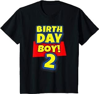 Kids 2 Year Old Toy Birthday Boy Story Gift Shirt