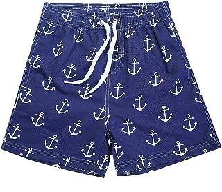 Naberry 水着 サーフパンツ キッズ 子供 男の子 UVカット 海水パンツ サーフショーツ ショートパンツ 短パン