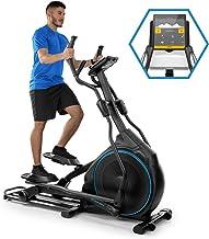 CapitalSports Helix Star DR Bicicleta elíptica obital - Bici elíptica, Compatible con Kinomap, Bluetooth, Volante de inercia de 27 kg, 32 Niveles de Resistencia, Pulsómetro, Ordenador