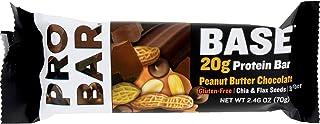 Probar, Bar Base Protein Peanut Butter Chocolate, 2.46 Ounce