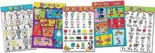 Eureka Mickey Mouse Bulletins Preschool Decorations, 0.1'' x 18'' x 28'' inches, 5pc