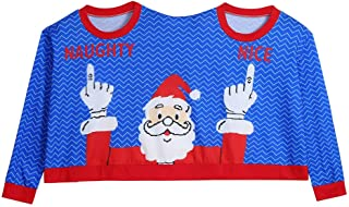 Women's Pullover, Novelty Christmas Unisex Couples Two Person Sweater Blouse Top Shirt