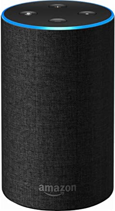 Echo (2nd Generation) - Smart speaker with Alexa -...