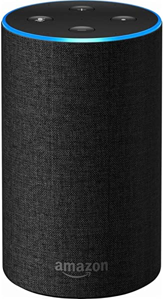 Echo 2nd Generation Smart Speaker With Alexa And Dolby Processing Charcoal Fabric