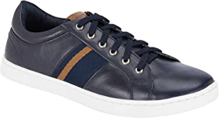 Parx Solid Blue Coloured Synthetic Footwear