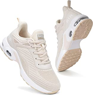 Women Air Athletic Running Shoes - Air Cushion Shoes for Womens Mesh Sneakers Fashion Tennis Breathable Walking Gym Work S...