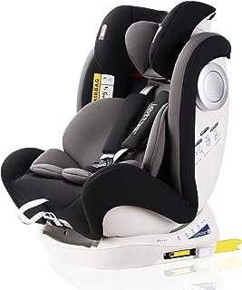 comprar comparacion LETTAS Silla de coche Isofix grupo 0+1/2/3 (0-36 kg, desde los 0 meses hasta los 12 años) ECE R44/04 (Negro-2)