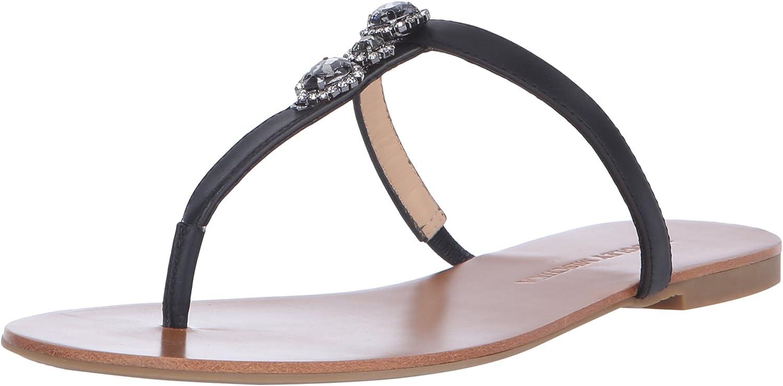 Badgley Mischka Women's Catrina Flat Sandal