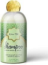 Noor 786 Halal Friendly Keratin Biotin Argan Anti Dandruff | Anti Frizz Shampoo For All Hair Types For Men & Women, 200 ml