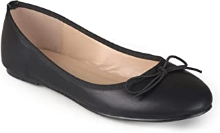 Journee Collection Womens Vika Closed Toe Ballet Flats US