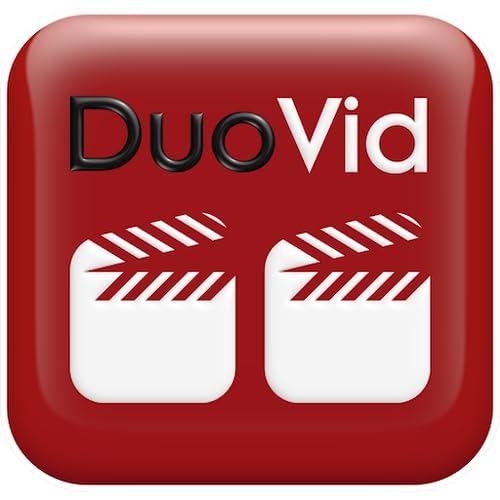 DuoVid - assista dois vídeos lado a lado com o duo vid ao mesmo tempo. Melhorar uma habilidade, esporte. Córrego do YouTube, URL, biblioteca telefone.