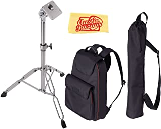 Roland CB-HPD Carrying Bag Bundle with Roland PDS-10 Stand and Austin Bazaar Polishing Cloth