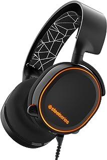SteelSeries Arctis 5 7.1 RGB Oyuncu Kulaklığı, Siyah
